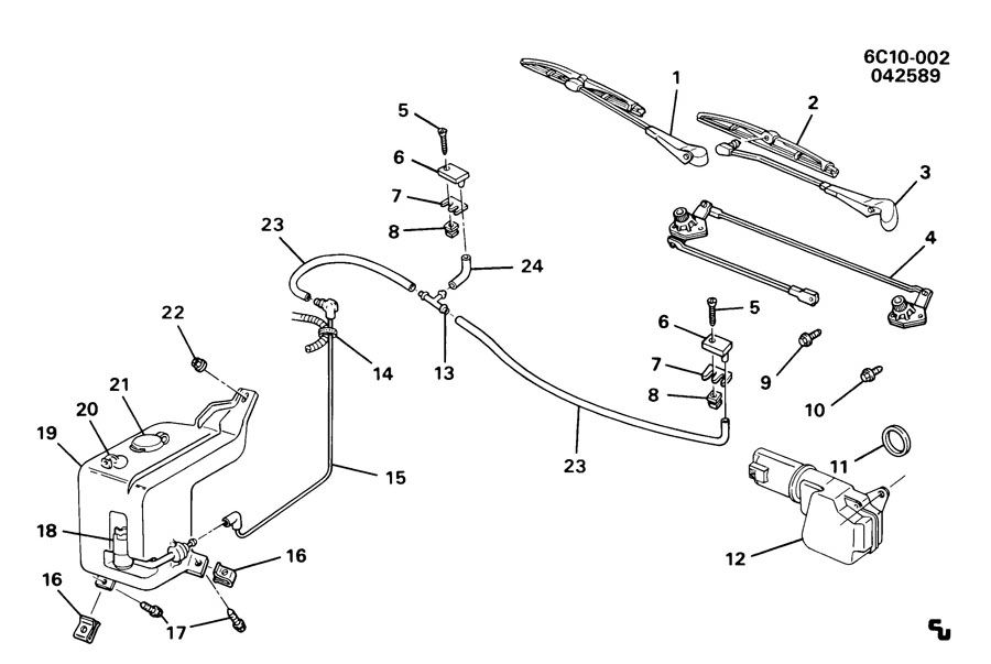 1990 Cadillac Sedan Deville Fuse Box • Wiring Diagram For Free