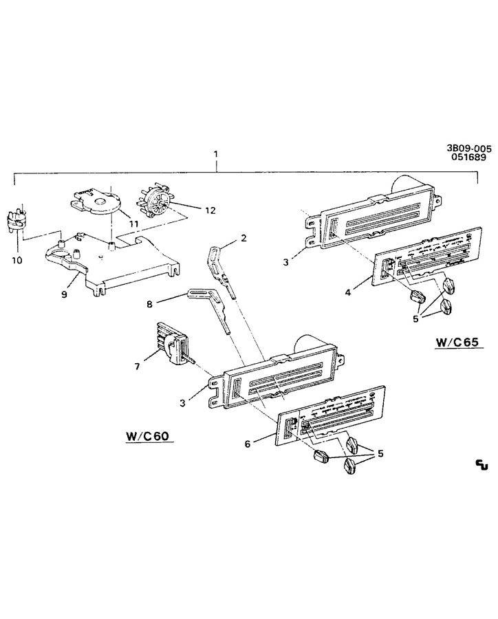 1986 Chevrolet El Camino Valve. Air conditioning (a/c