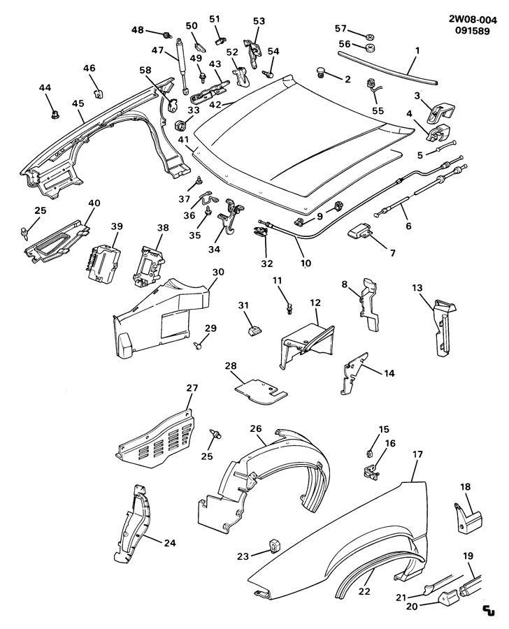Pontiac Grand Prix Molding kit. Rocker panel. Molding kit