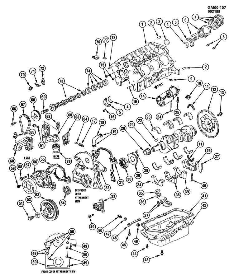 [DIAGRAM] 4 3l V6 Vortec Engine Block Diagram FULL Version