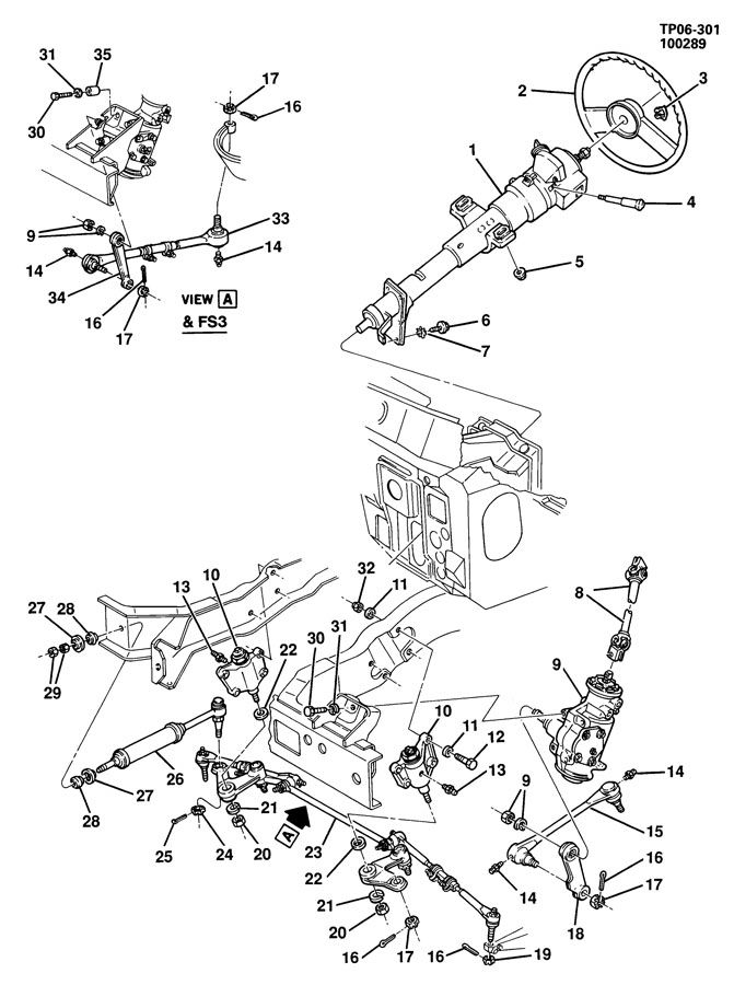 Chevrolet P30 STEERING SYSTEM & RELATED PARTS