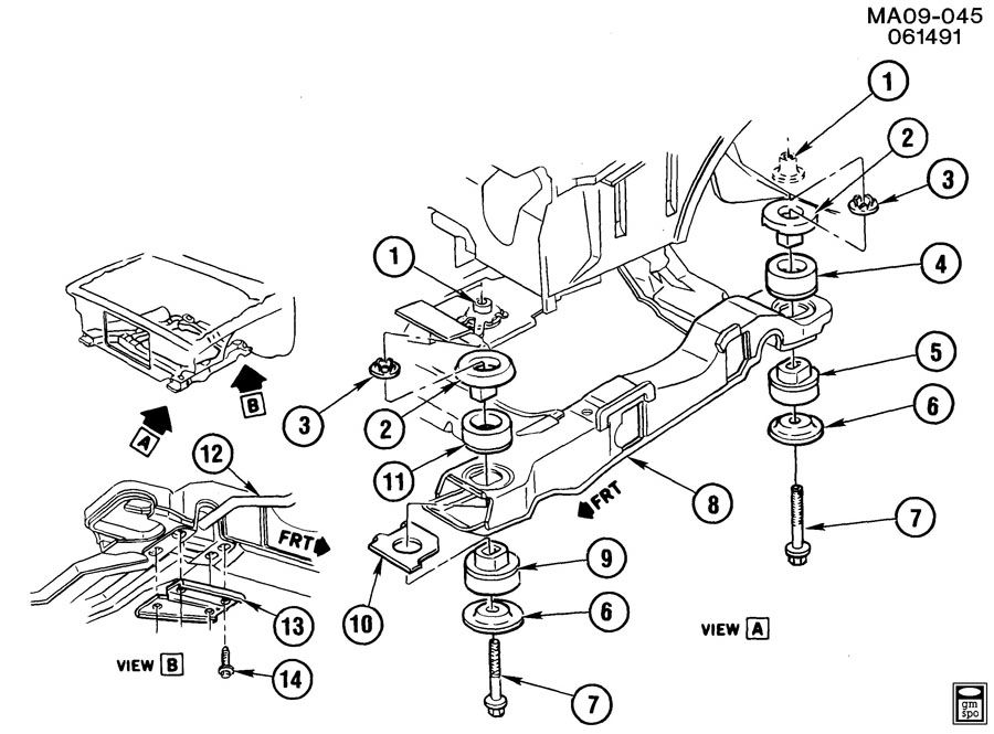 WIRING DIAGRAM 1986 Oldsmobile Cutlass Ciera Engine