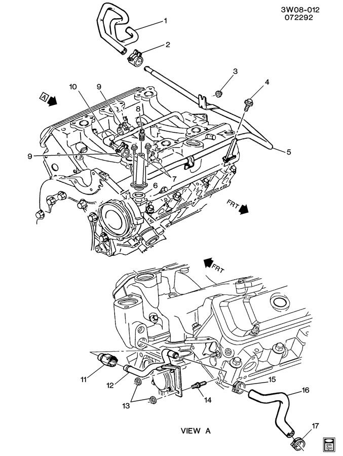 [DIAGRAM] Pontiac Grand Prix V6 Engine Cooling System Diagram