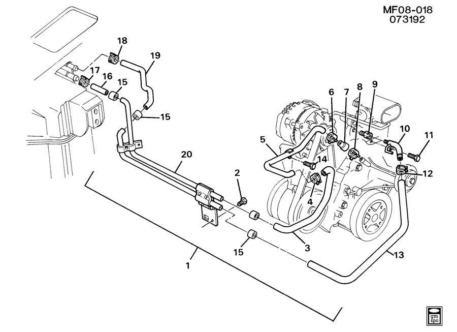 kawasaki 454 ltd en450 headlight system circuit wiring diagram