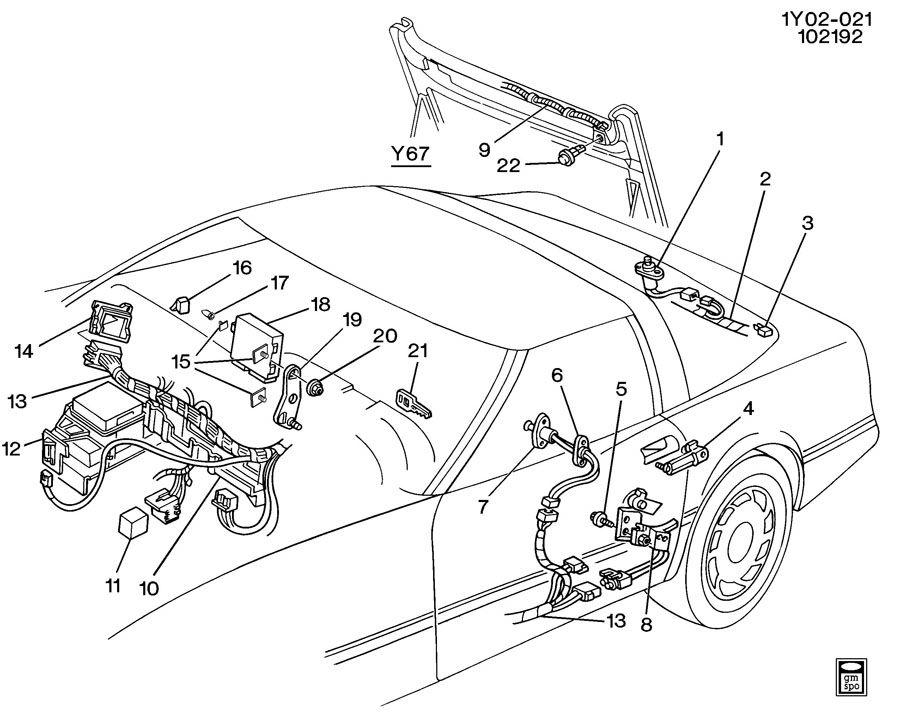 Chevrolet Corvette Bcm. Remanufactured module. Systemanti