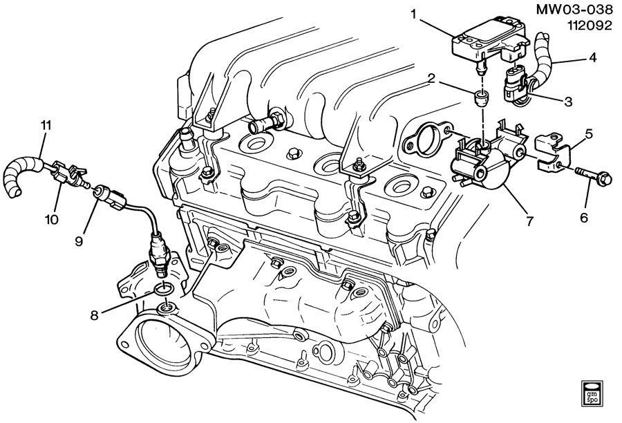 Chevrolet Lumina M.A.P. & OXYGEN SENSORS
