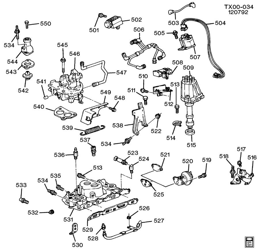 Chevrolet S10 Emission System. HOSE. TUBE. TUBE, MAP SEN