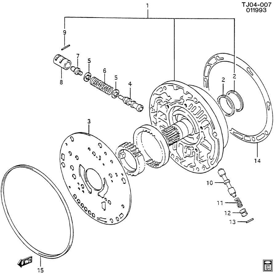 Geo Tracker Bushing. Transmission control valve. Bushing