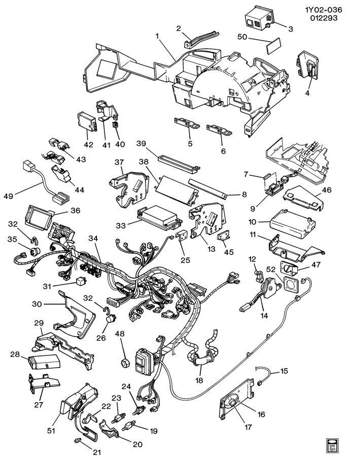 Chevrolet Corvette Brace. Instrument panel pad. Brace, i/p