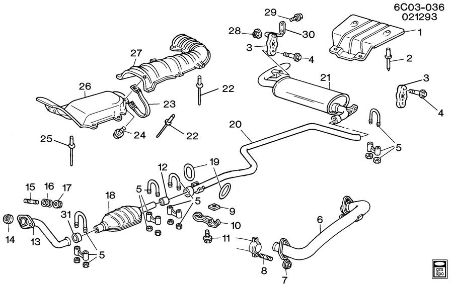 Cadillac Fleetwood Nut. Body to frame bolt. Engine