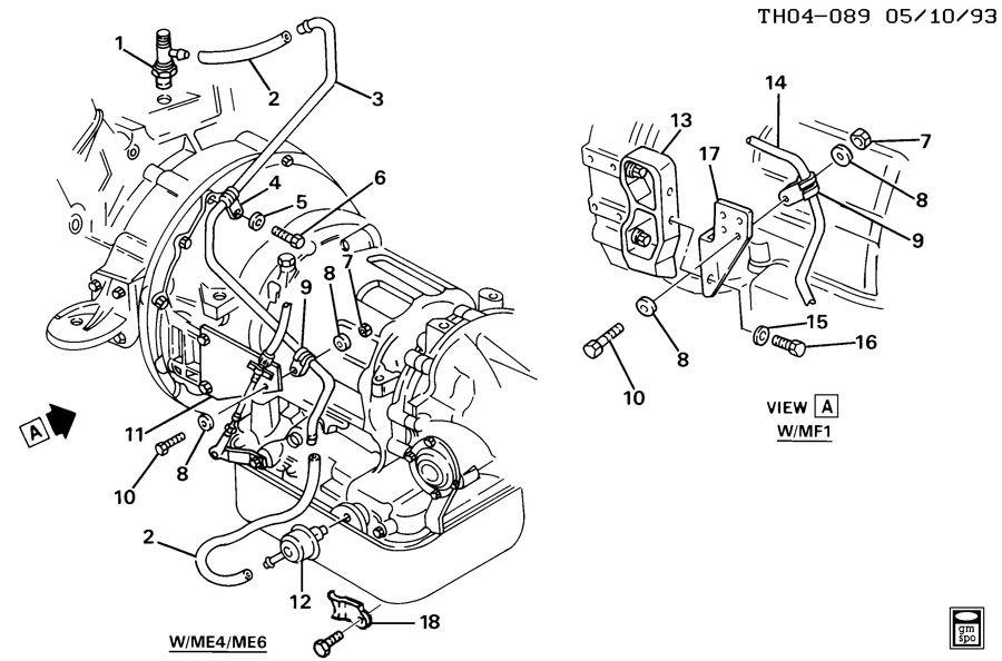 Allison At545 Diagram. allison at545 transmission parts