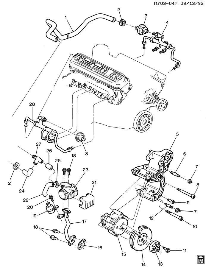 Chevrolet Tpi Schaltplang