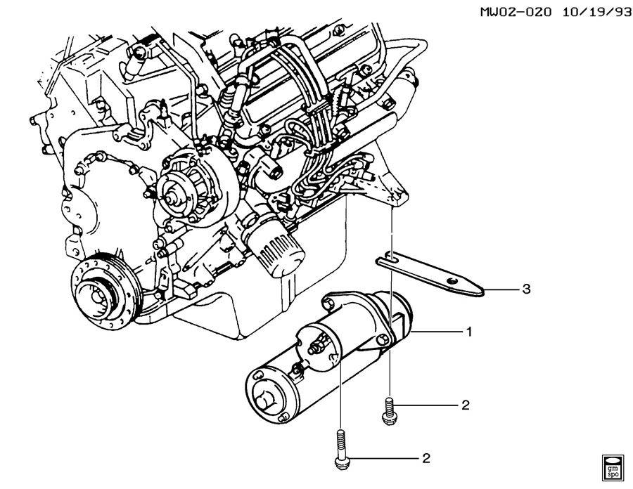 WIRING Pontiac Grand Prix Starter Diagram HD Version