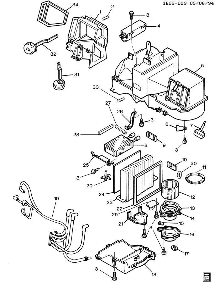 Chevrolet Impala Bracket; connector; module; relay; relay