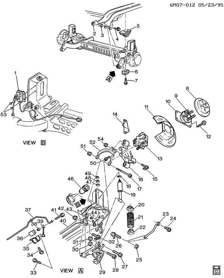 Cadillac Deville Hub. Rear wheel. Hub, rr whl(incls stud