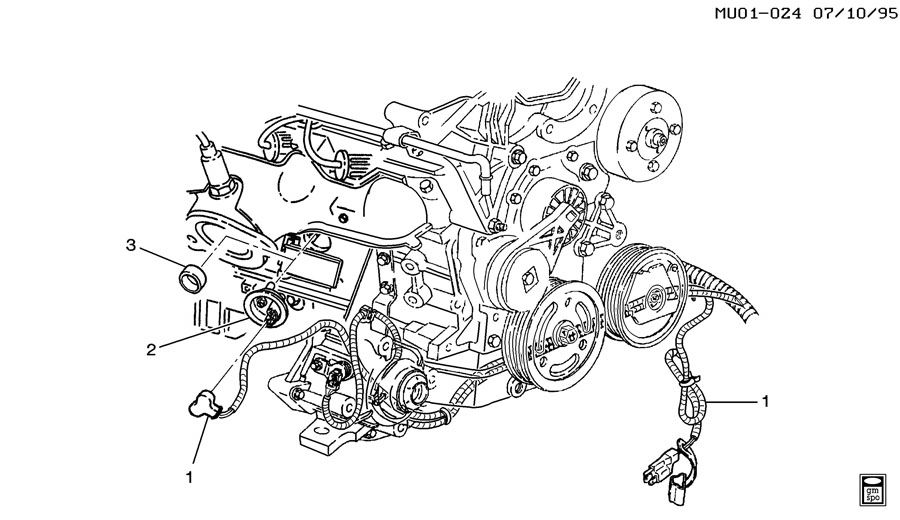 2002 Chevrolet Venture ENGINE BLOCK HEATER