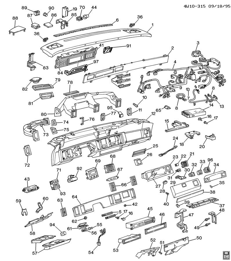 1990 Oldsmobile Cutlass Ciera Module. Body wiring. Timer