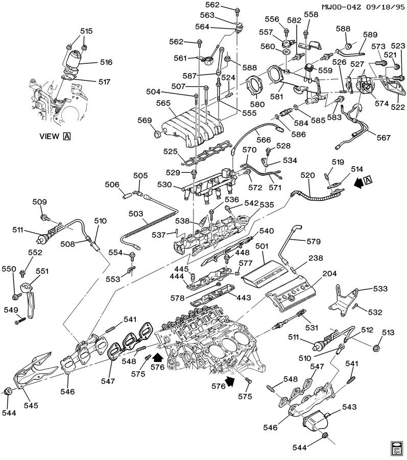 Pontiac Grand Prix Pipe. Engine crankcase ventilation