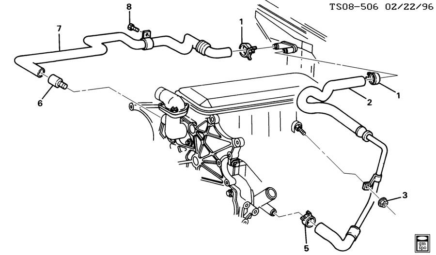 [DIAGRAM] 2003 Chevy S10 Heater Hose Diagram FULL Version