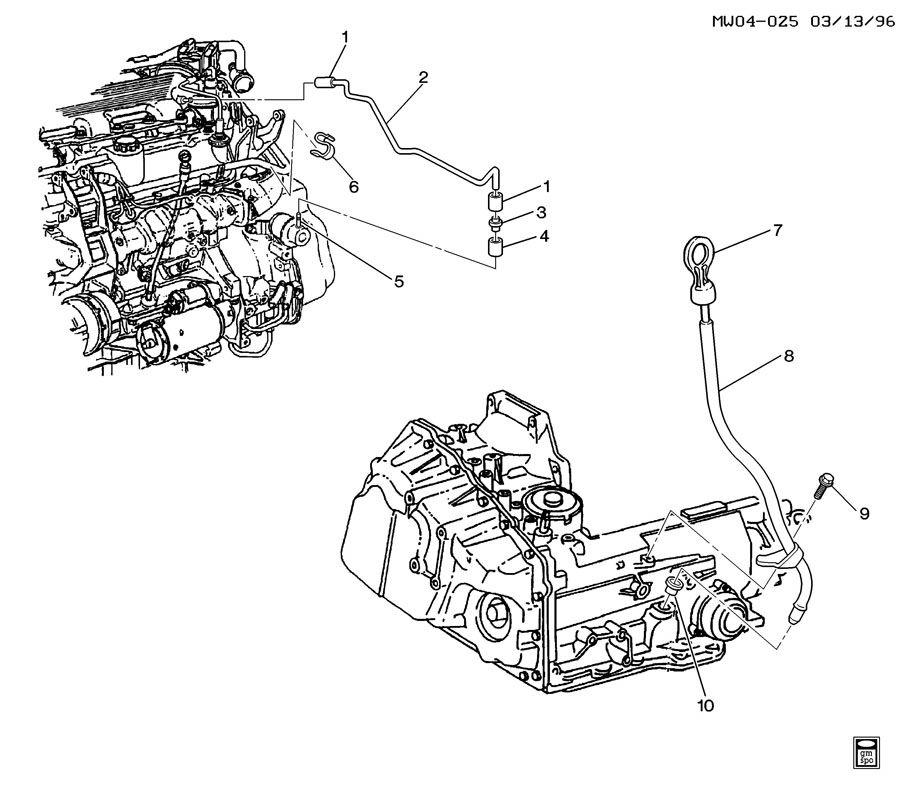 Chevrolet Monte Carlo Indicator. Transmission oil filler
