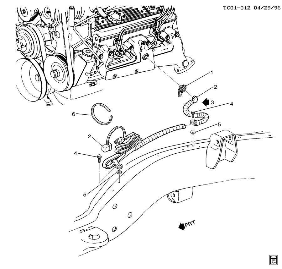 Automotive 6 5 Fuel Filter Housing Diagram