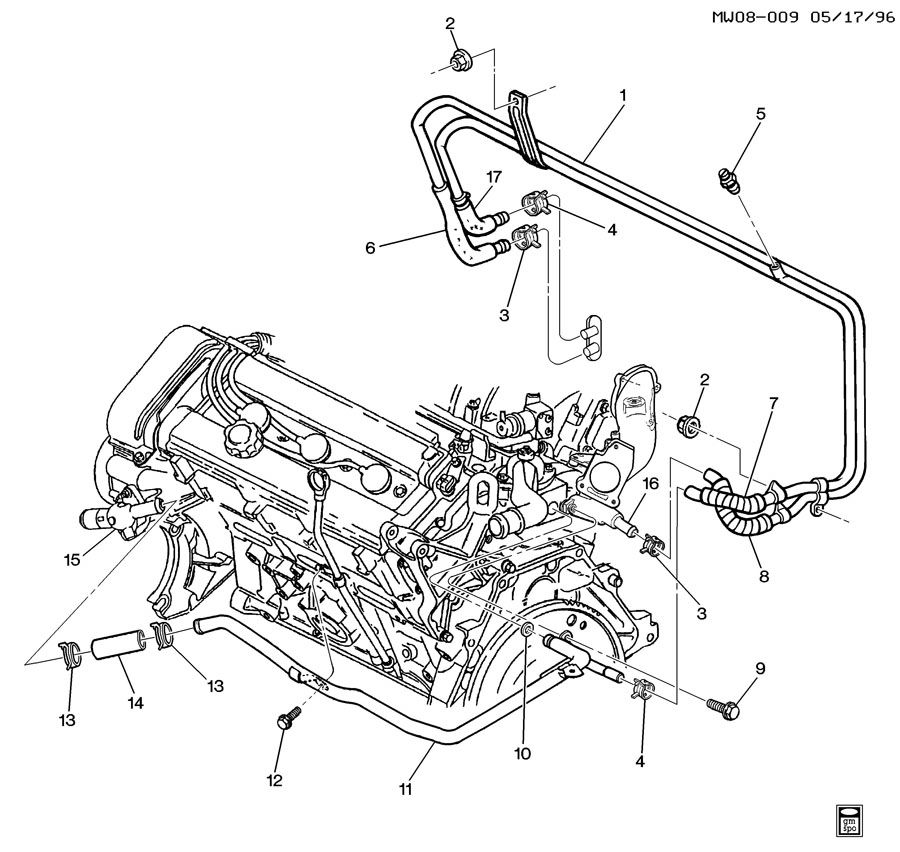 [DIAGRAM] 3 4l V6 Engine Gm Heater Core Hose Diagram FULL