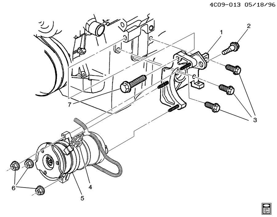 2007 Cadillac ESCALADE Wiring Harness Connector. 3.4 & 5.7