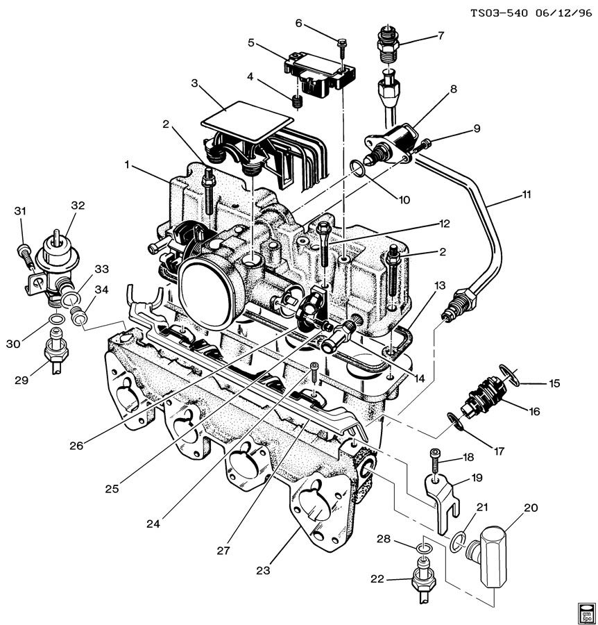 Wiring Diagram: 30 Chevy S10 22 Engine Diagram