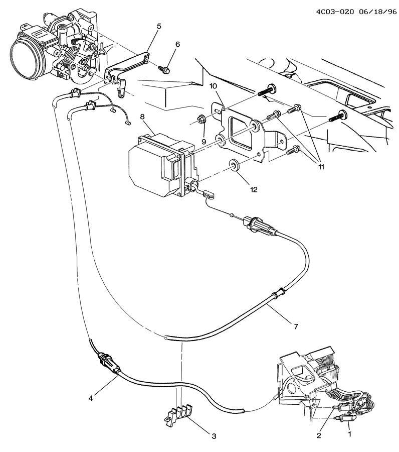 1998 Buick Park Avenue ULTRA CRUISE CONTROL