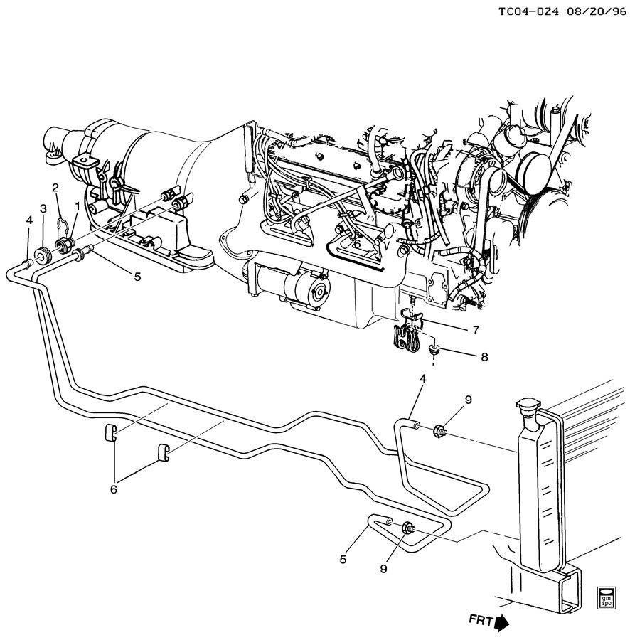 [DIAGRAM] 1994 K1500 Automatic Transmission Diagram FULL