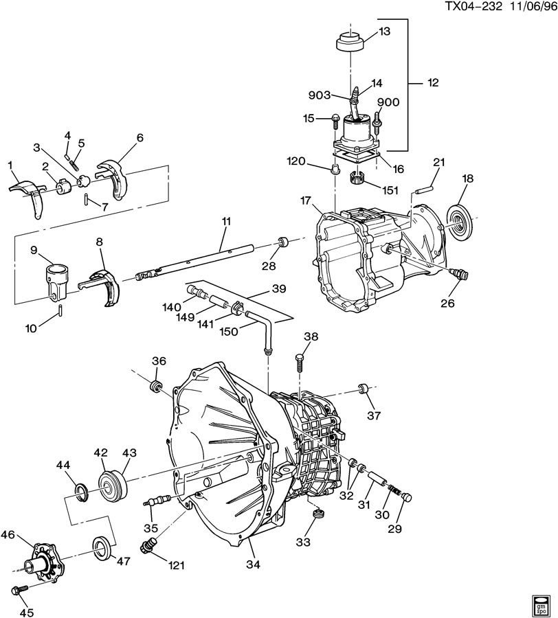 Service manual [1996 Gmc Yukon Manual Transmission Hub