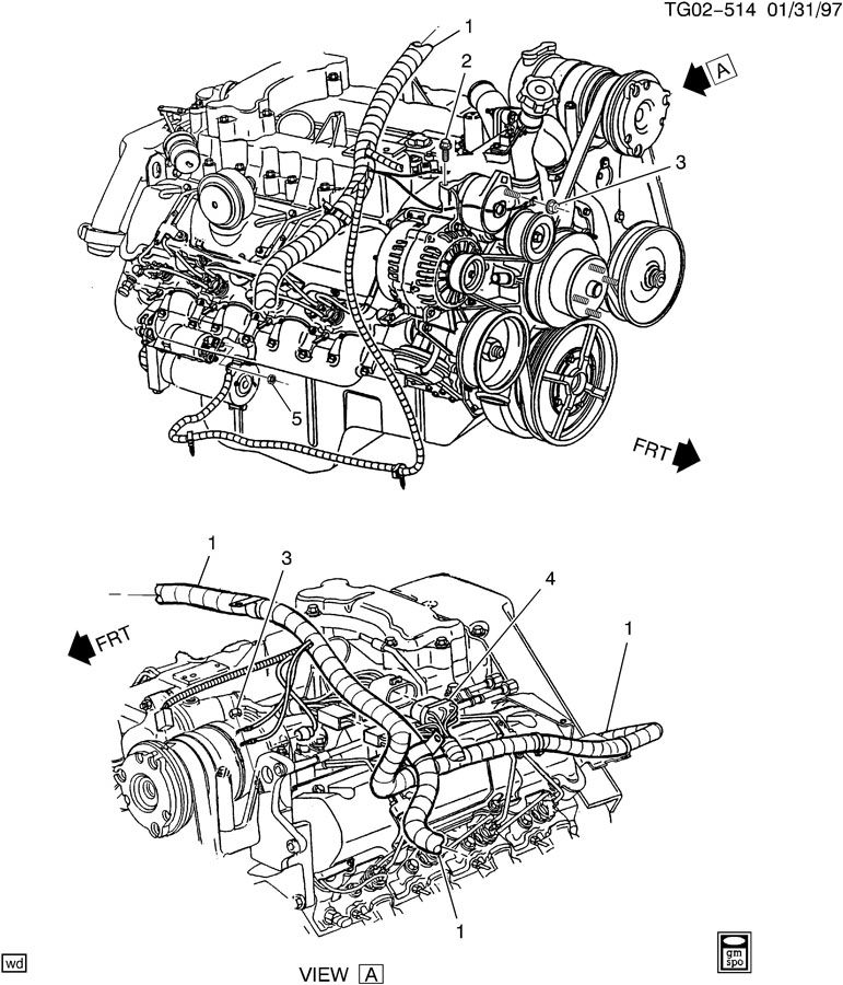 2001 Chevrolet Monte Carlo Connector. MALEWLEADSACDelco