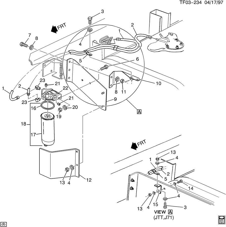 Chevrolet T7500 Separator. NONHTD, SEPARATORSPIN, ONNWB