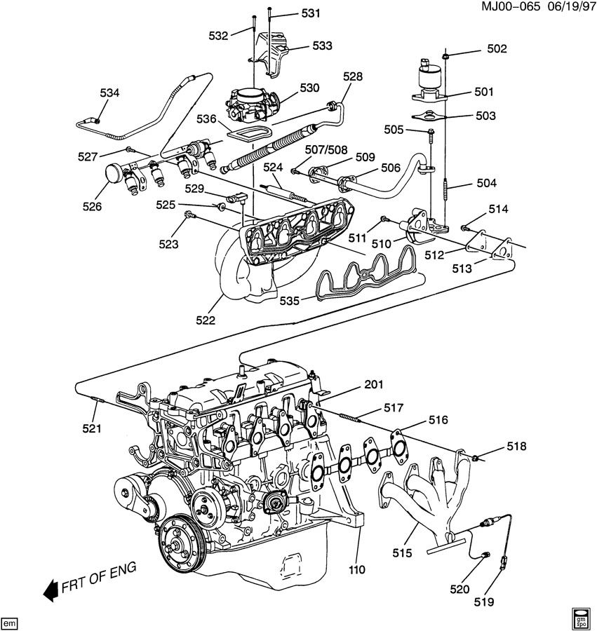 [DIAGRAM] Chevy Cavalier Z24 2 4 Engine Diagram FULL