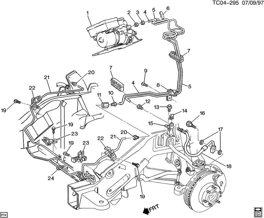 Chevrolet K2500 BRAKE LINES/FRONT