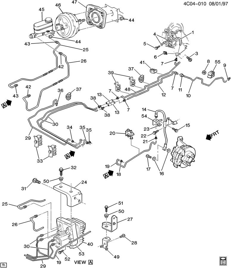 [DIAGRAM] 1996 Buick Lesabre Brake Line Diagram FULL
