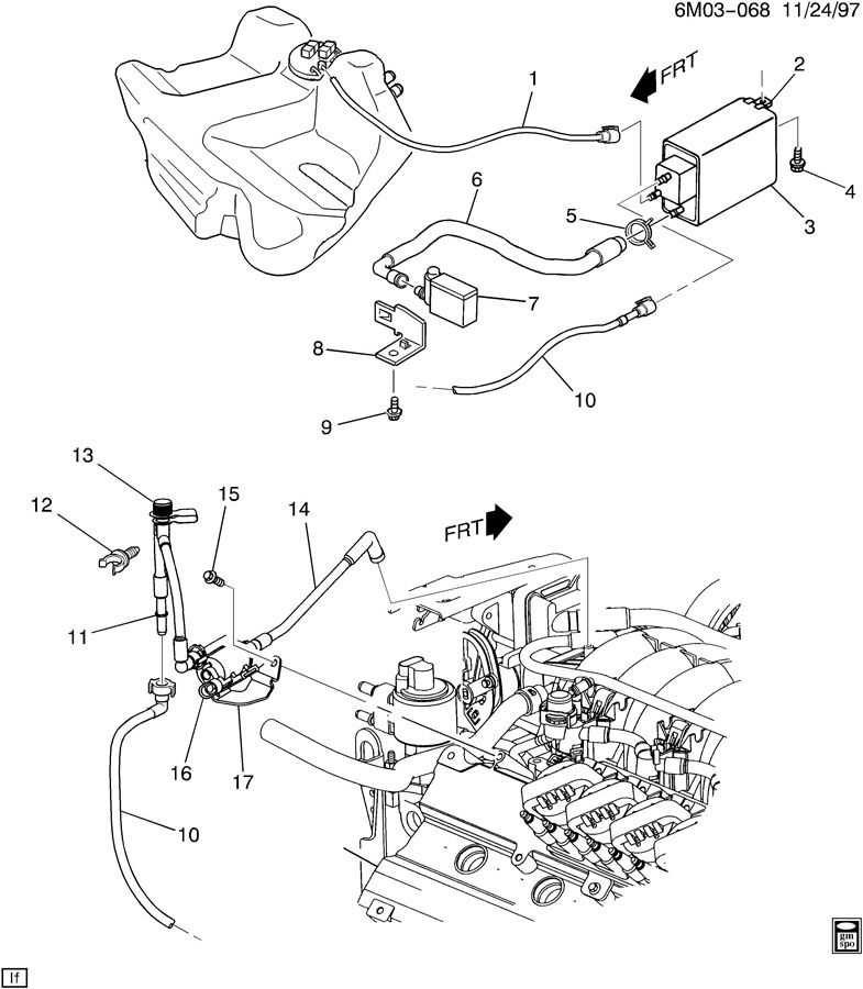 Service manual [Replace Evap Canister On A 2000 Hummer H1