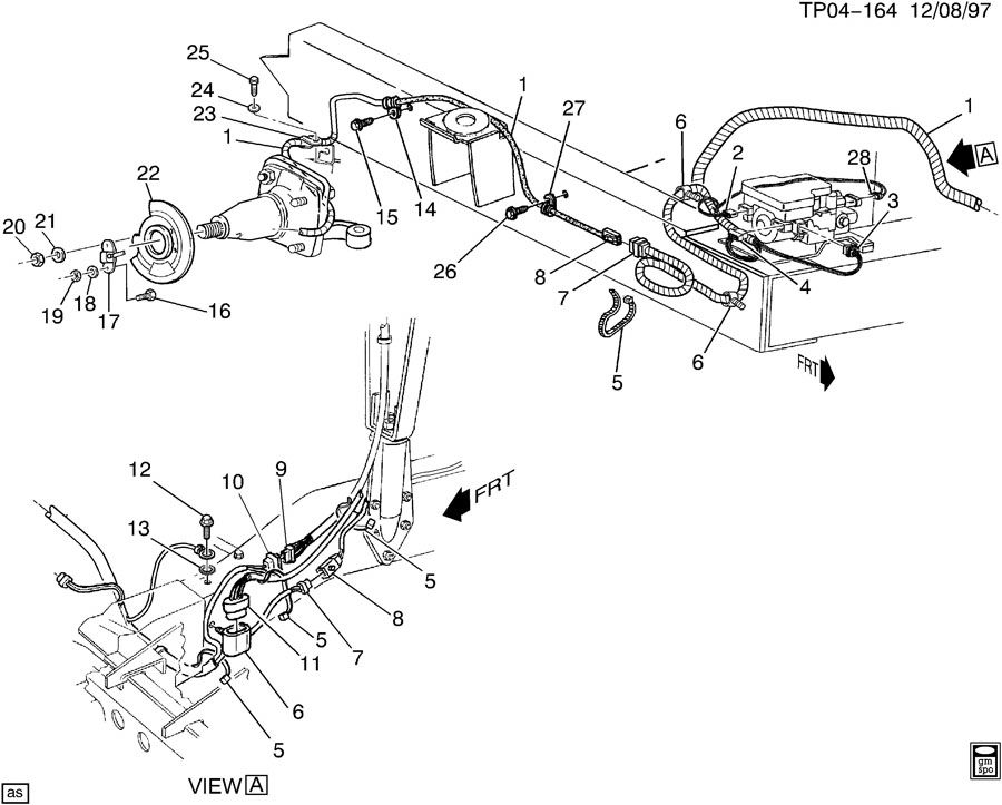 Chevrolet P30 BRAKE ELECTRICAL SYSTEM-PWR DISC BRAKES