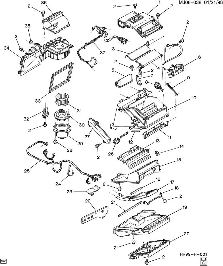 Chevrolet Cavalier Connector. Connectorswdr, connectorswrr