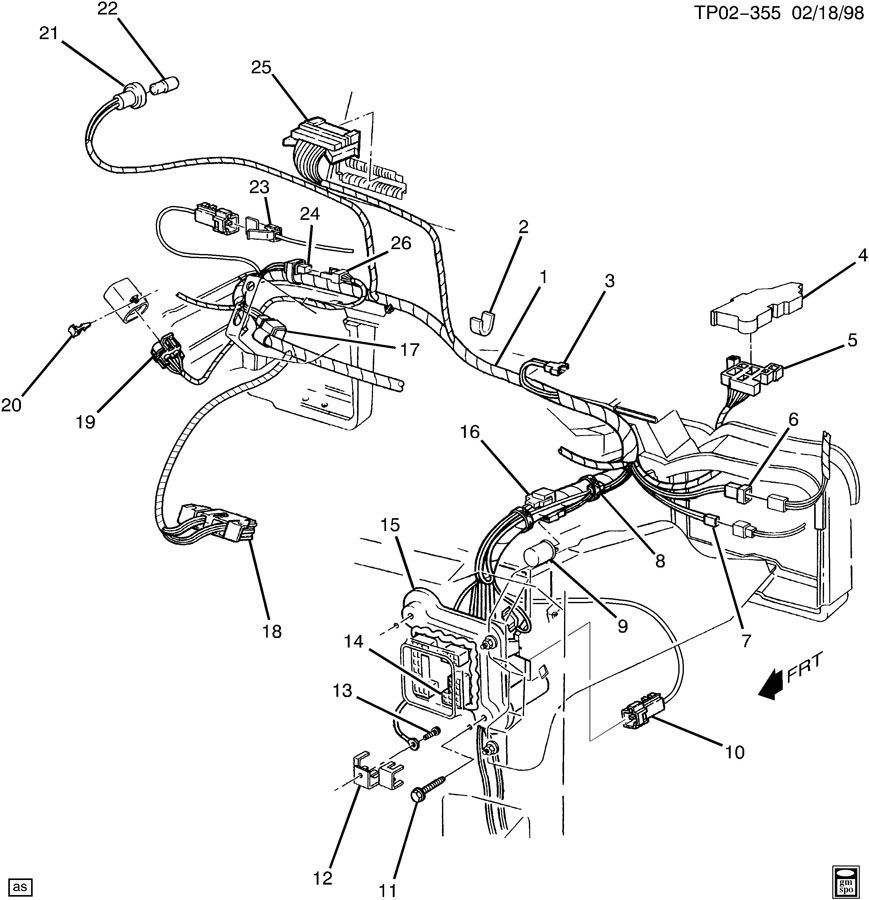gm dual battery wiring kit part number
