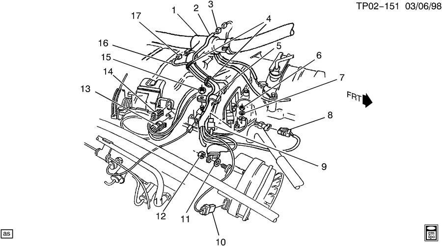 Chevrolet P30 Connector. Connectorswaux, crossbody