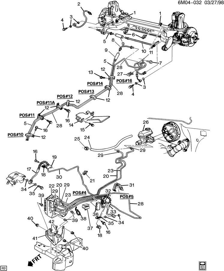 Cadillac Deville Hose. Vacuum power brake. Hose, p/b boos