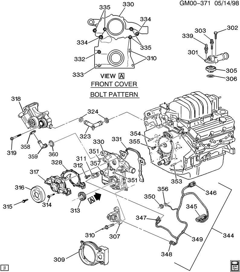 Chevrolet Monte Carlo Harness. Engine wiring. Harness