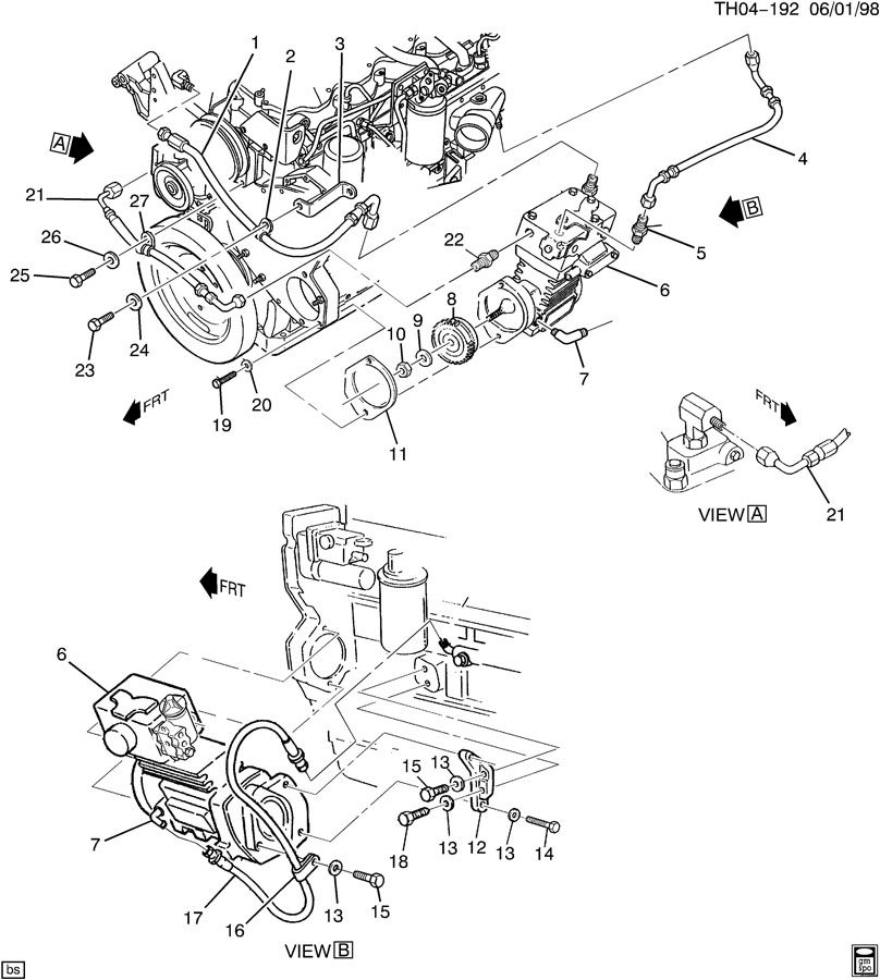 Caterpillar C7 Engine Parts Diagram