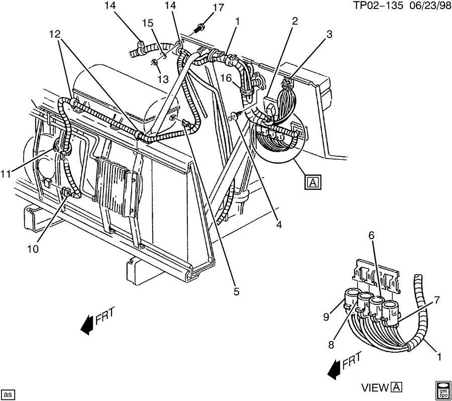 2000 Buick Century Bracket; connector; module; relay