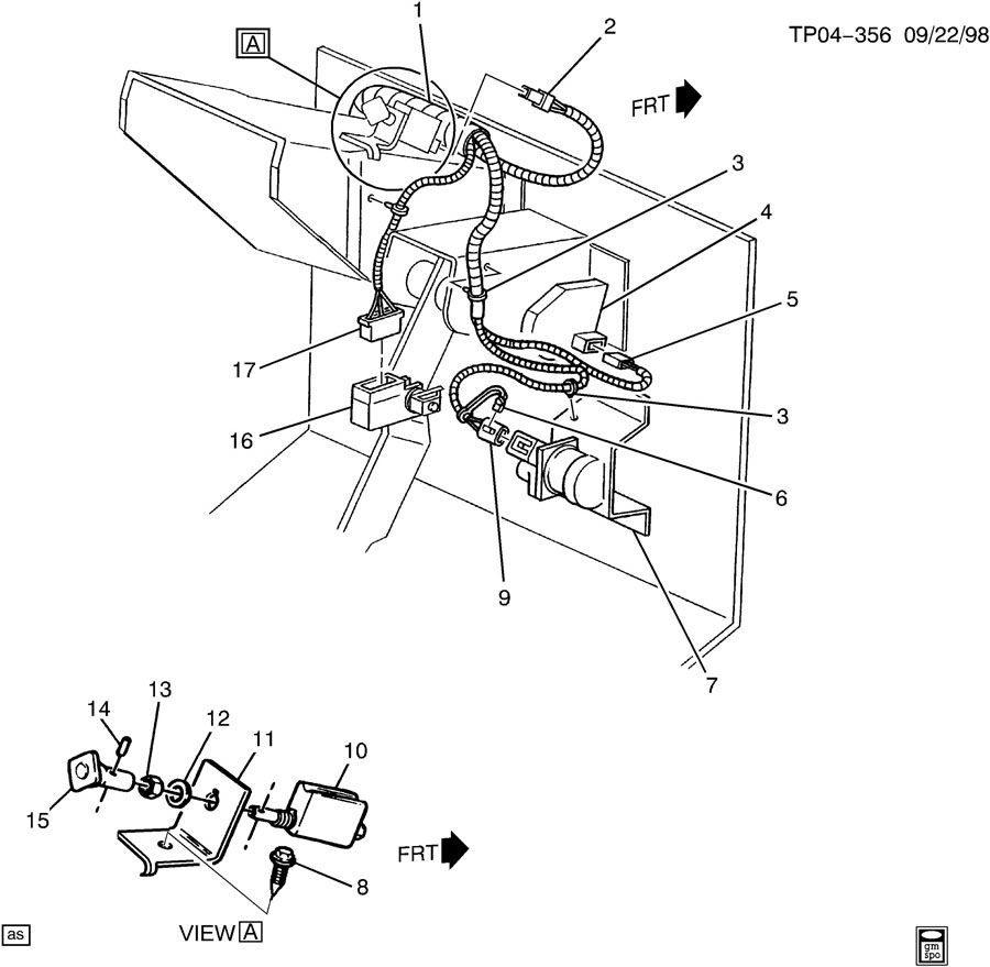 Chevrolet C10 PARKING BRAKE SYSTEM/SWITCH & WIRING