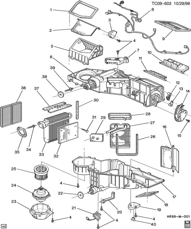 Chevrolet Silverado Valve. Air distributor. Valve, mode