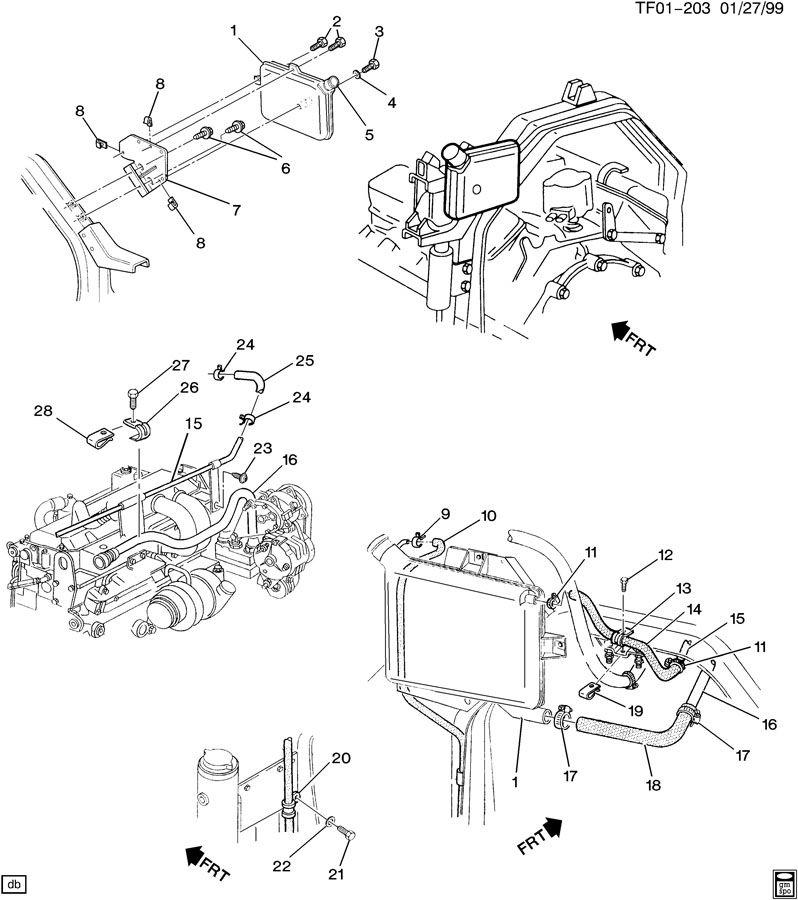 1997 Chevrolet Bolt. Engine mounting. Hood latch. Hood