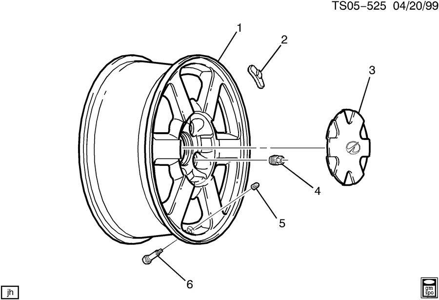 2001 Chevrolet BLAZER Nut. Hub bolt. Hub front and rear