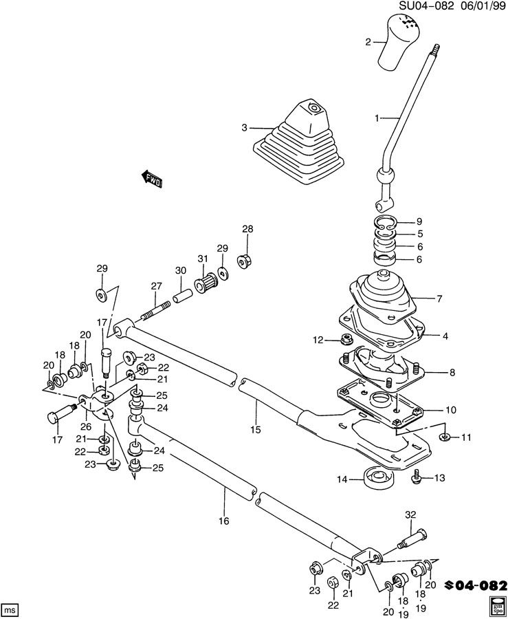 Service manual [Diagram Of Transmission Dipstick On A 1997
